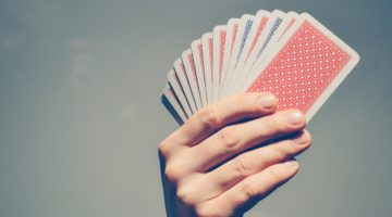Må man tælle kort i blackjack?