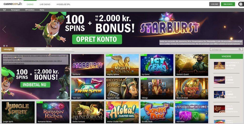 Anmeldelse af casinosjov.dk