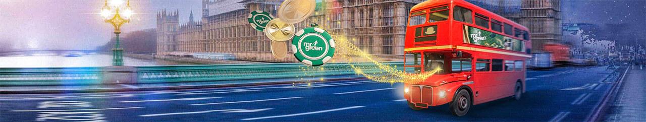 Få din Mr Green bonus med free spins