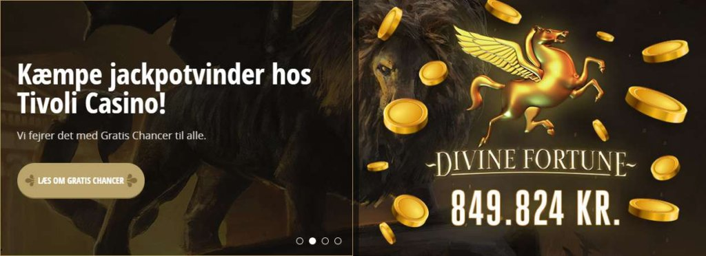 Kæmpe jackpotvinder hos Tivoli Casino!