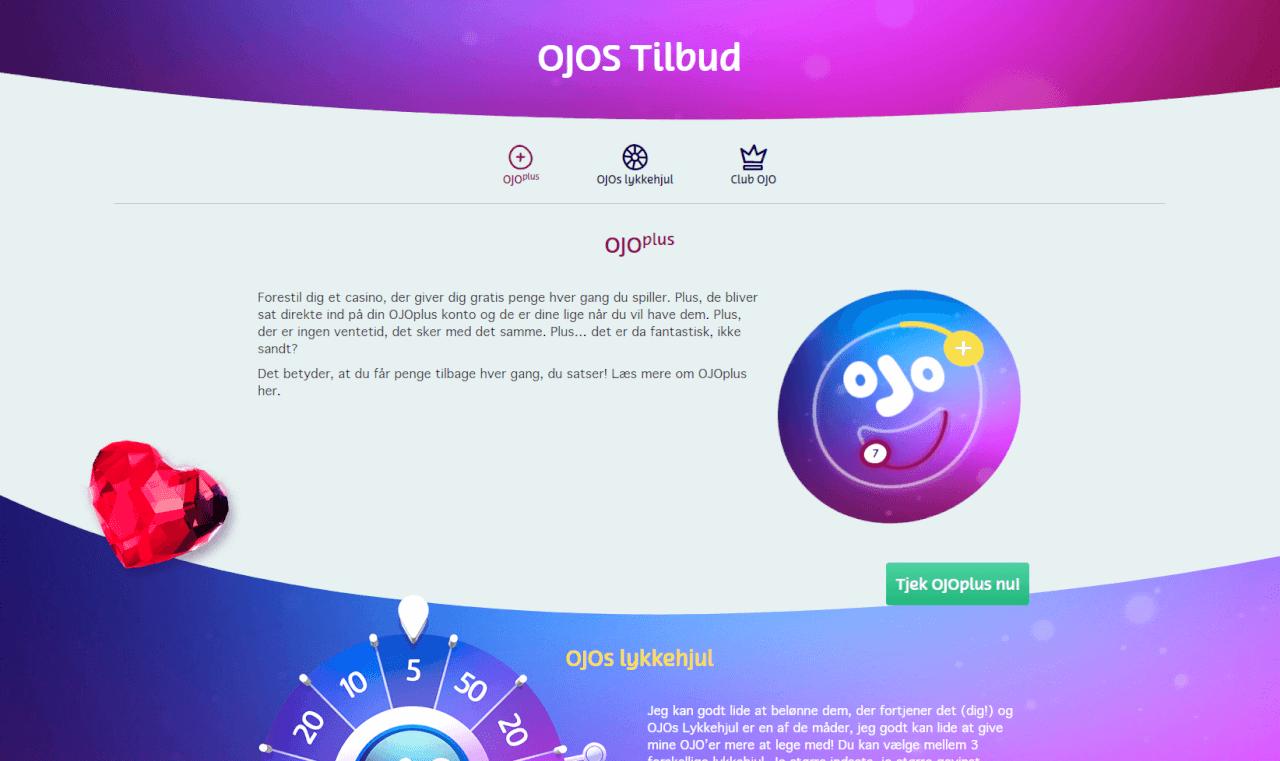 VIP tilbud hos Play OJO