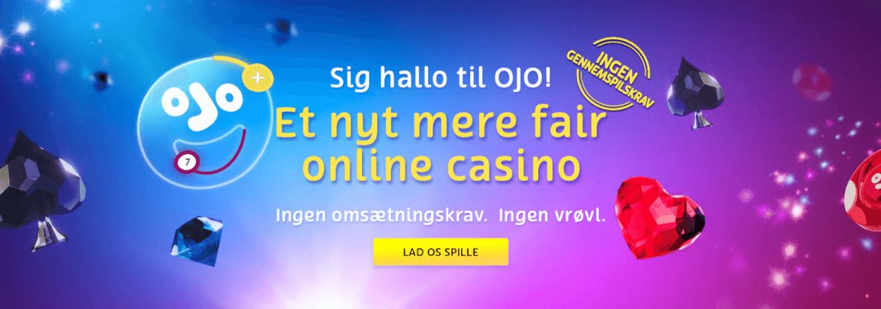 Fair play - Ingen gennemspilningskrav/omsætningskrav hos PlayOJO